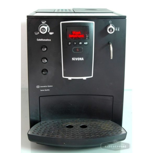 Rotel Aromatica kávégép fekete ( felújított 12 hónap garanciával)