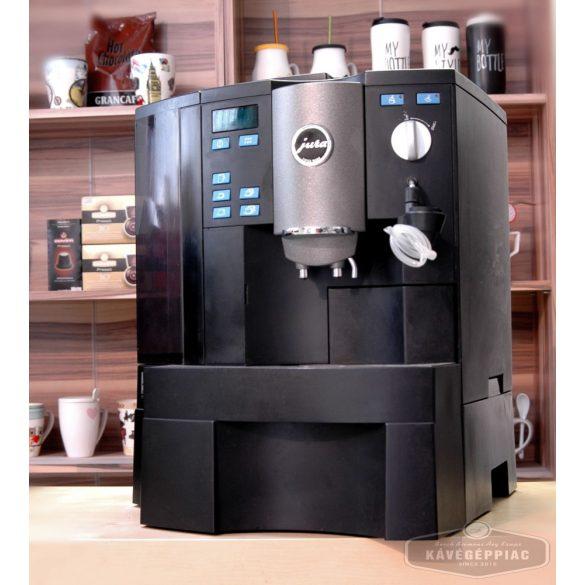 Jura Imressa X90 kávégép cappuccino fejjel (felújított 12 hónap garanciával)