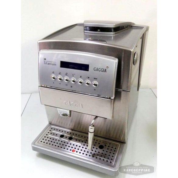 Gaggia Titanium kávégép  (felújított 6 hónap garancia)