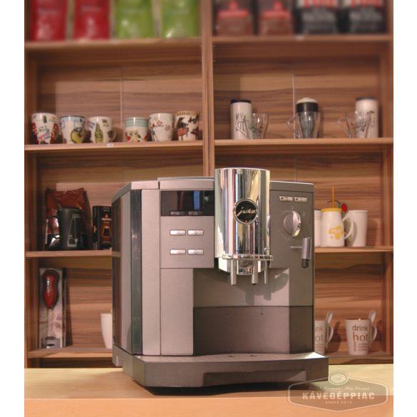 Jura Impressa S9 kávégép Avantgarde cappuccino fejjel (felújított 12 hónap garanciával)