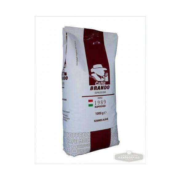 BRANDO PIROS pörkölt szemes kávé