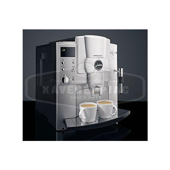 Jura Impressa E45 Black kávégép új kazánnal új késekkel új szivattyúval ( felújított 6 vagy 12 hónap garanciával)