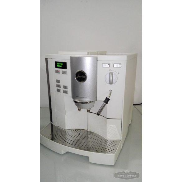 Jura S70 fehér kávégép (felújítva 12 hónap garanciával)