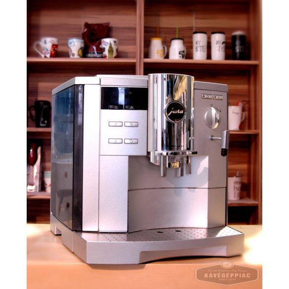 Jura Impressa S9 kávégép Avantgarde (felújított 12 hónap garanciával)